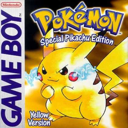 Bestselling Games (2006) - Pokemon - Yellow Version