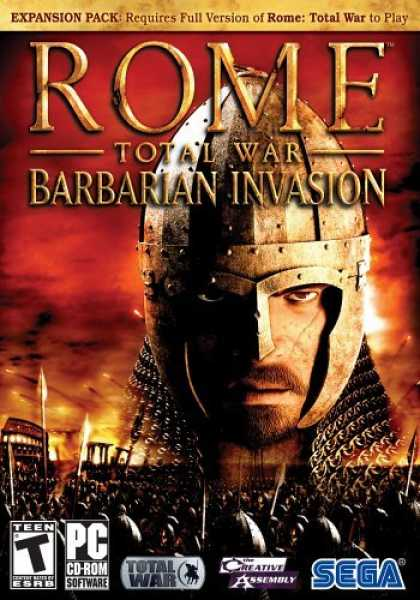 Bestselling Games (2006) - Rome Total War: Barbarian Invasion Expansion Pack