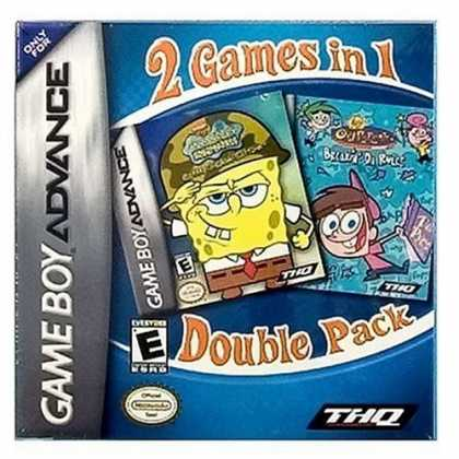 Bestselling Games (2006) - SpongeBob SquarePants/Fairly OddParents Value Pak