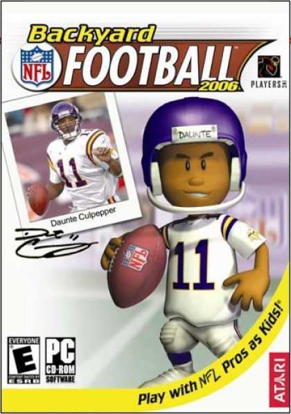 Bestselling Games (2006) - Backyard Football 2006