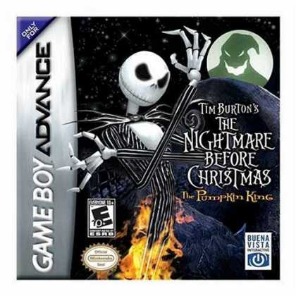 Bestselling Games (2006) - Tim Burton's Nightmare Before Christmas: The Pumpkin King