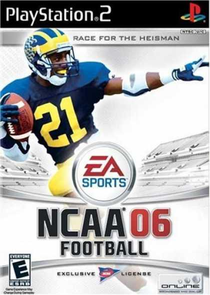 Bestselling Games (2006) - PS2 NCAA Football 2006