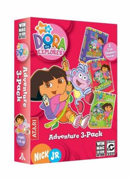 Bestselling Games (2006) - Dora the Explorer Adventure 3 PACK