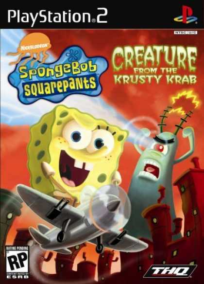 Bestselling Games (2006) - Spongebob Squarepants Creature from the Krusty Krab