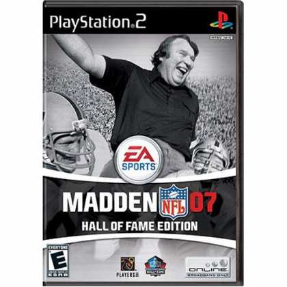 Bestselling Games (2006) - Madden NFL 07 Hall of Fame Edition (PS2)
