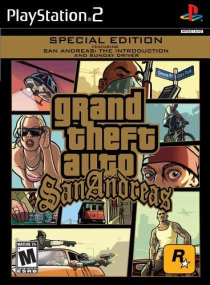 Bestselling Games (2006) - Grand Theft Auto: San Andreas