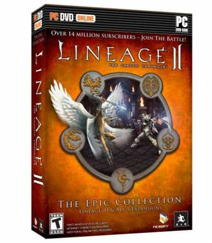 Bestselling Games (2006) - Lineage 2 Epic Collection