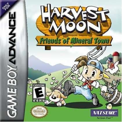 Bestselling Games (2006) - Harvest Moon: Friends of Mineral Town
