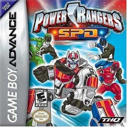 Bestselling Games (2006) - Power Rangers: Space Patrol Delta