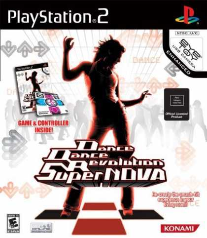 Bestselling Games (2006) - Dance Dance Revolution Supernova Bundle