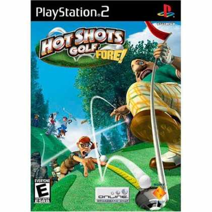 Bestselling Games (2006) - Hot Shots Golf Fore