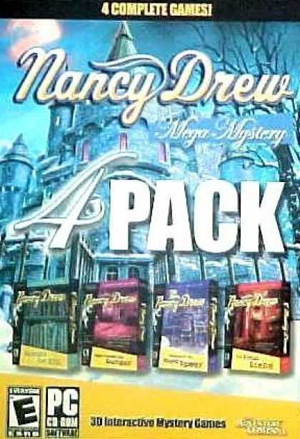 Bestselling Games (2006) - Nancy Drew Mega Mystery 4 Pack