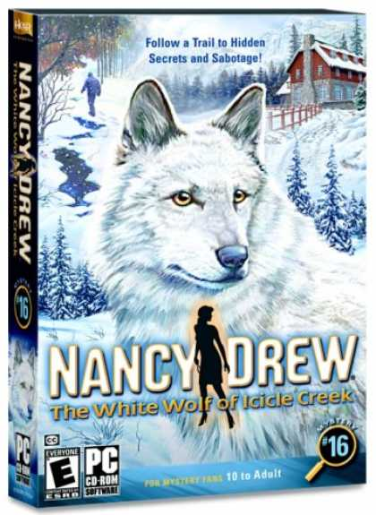 Bestselling Games (2007) - Nancy Drew: The White Wolf of Icicle Creek