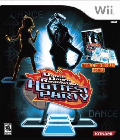 Bestselling Games (2007) - Dance Dance Revolution Hottest Party Bundle