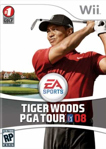 Bestselling Games (2007) - Tiger Woods PGA Tour 08