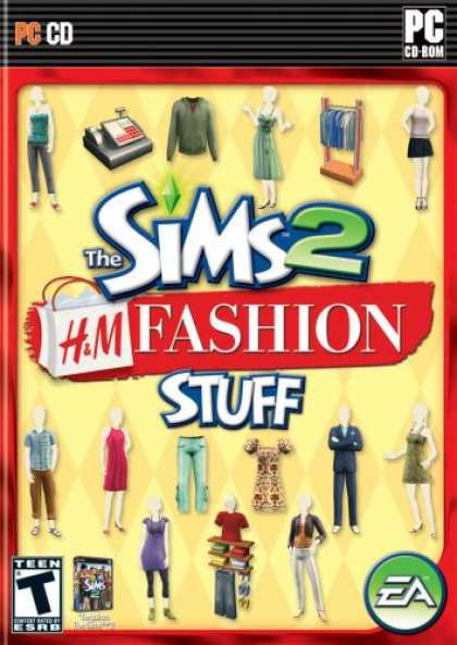 Bestselling Games (2007) - The Sims 2 H&M Fashion Stuff