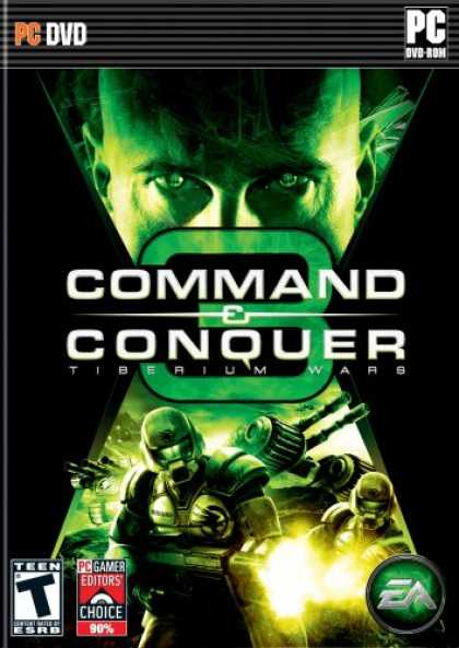 Bestselling Games (2007) - Command & Conquer 3:Tiberium Wars DVD