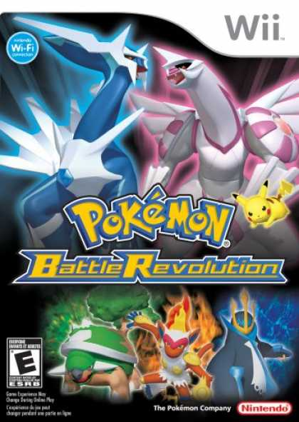 Bestselling Games (2007) - Pokemon Battle Revolution