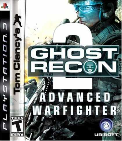Bestselling Games (2007) - Tom Clancy's Ghost Recon Advanced Warfighter 2