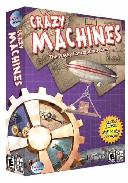 Bestselling Games (2007) - Crazy Machines: The Wacky Contraptions Game Win/Mac