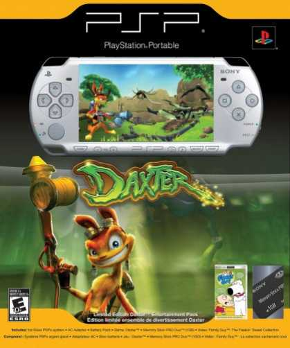 Bestselling Games (2007) - Sony PSP Daxter Entertainment Pack - Ice Silver
