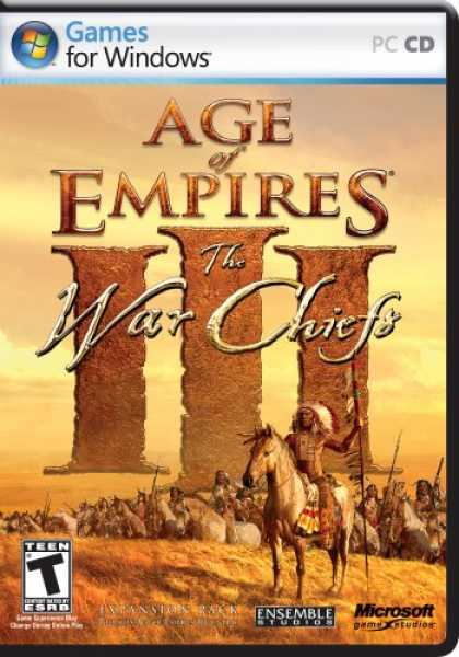 Bestselling Games (2007) - Age of Empires 3: WarChiefs Expansion Pack