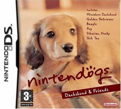 Bestselling Games (2007) - Nintendo DS Nintendogs Dachshund & Friends