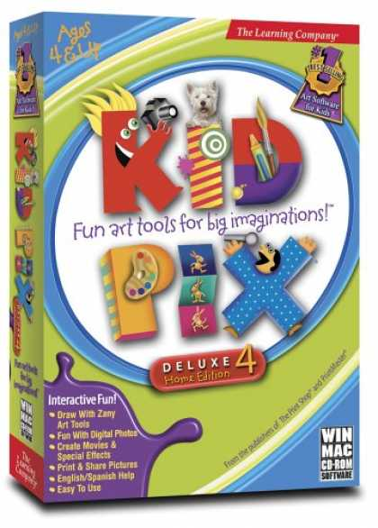 Bestselling Games (2007) - Learning Company Kid Pix Deluxe 4