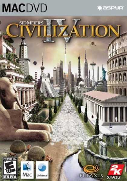 Bestselling Games (2007) - Civilization IV DVD-Rom (Mac)