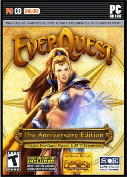 Bestselling Games (2007) - Everquest I: The Anniversary Edition