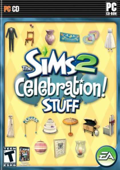 Bestselling Games (2007) - The Sims 2: Celebration Stuff