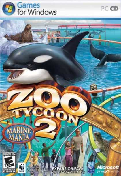 Bestselling Games (2007) - Zoo Tycoon 2: Marine Mania Expansion