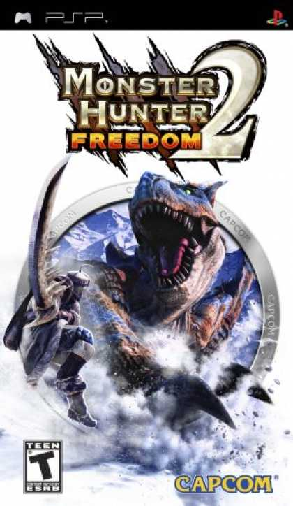Bestselling Games (2007) - Monster Hunter Freedom 2