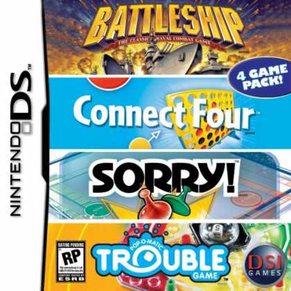 Bestselling Games (2007) - Battleship - Trouble - Sorry - Connect 4