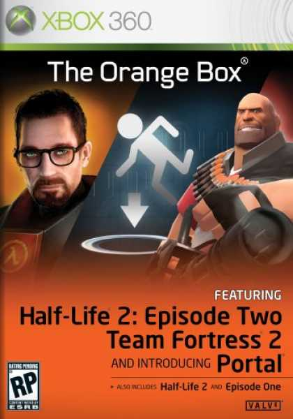 Bestselling Games (2007) - The Orange Box (Contains Half-Life 2, Half-Life 2: Episode One, Half-Life 2: Epi