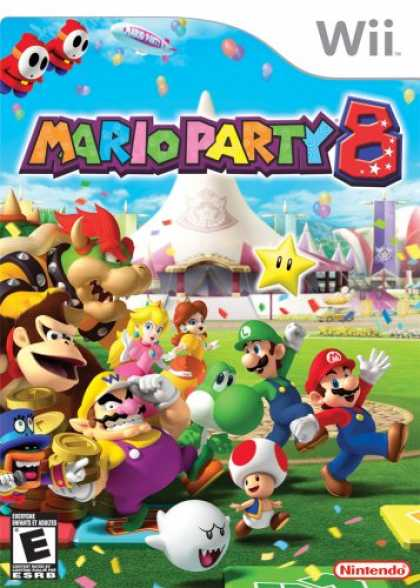 Bestselling Games (2007) - Mario Party 8