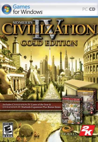Bestselling Games (2007) - Sid Meier's Civilization IV: Gold Edition (Includes Civilization IV and Civiliza