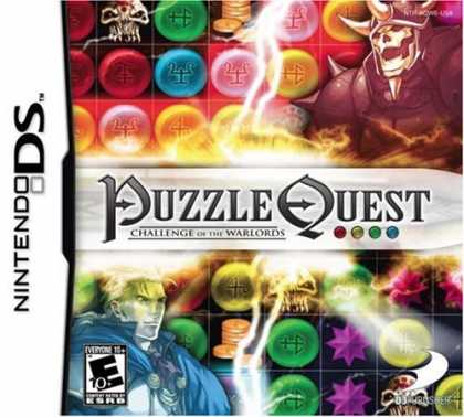 Bestselling Games (2007) - Puzzle Quest: Challenge of the Warlords
