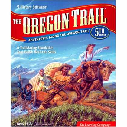 Bestselling Games (2007) - LEARNING COMPANY Oregon Trail 5th Edition (Windows/Macintosh)