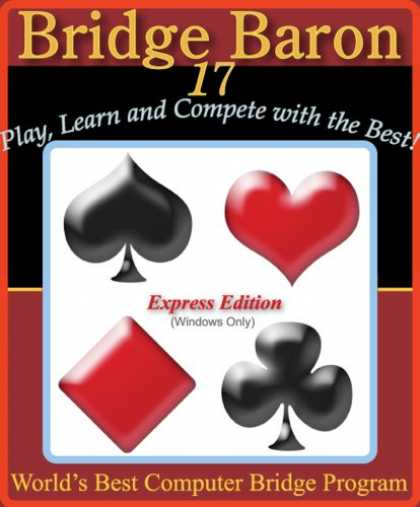 Bestselling Games (2007) - Bridge Baron 17 Express Edition By: Great Games