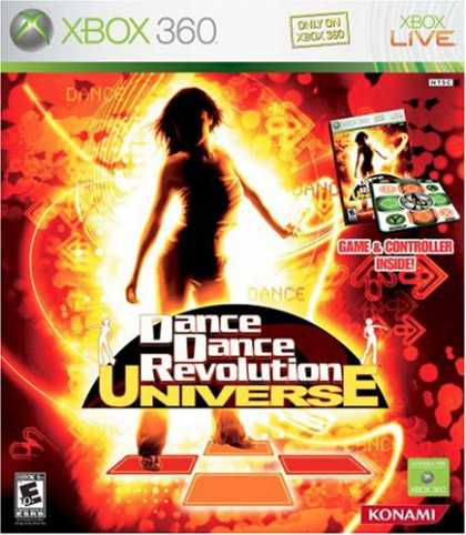 Bestselling Games (2007) - Dance Dance Revolution Universe Bundle