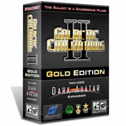Bestselling Games (2007) - Galactic Civilizations II Gold