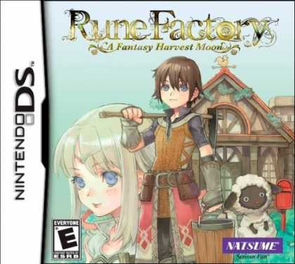 Bestselling Games (2007) - Rune Factory: A Fantasy Harvest Moon