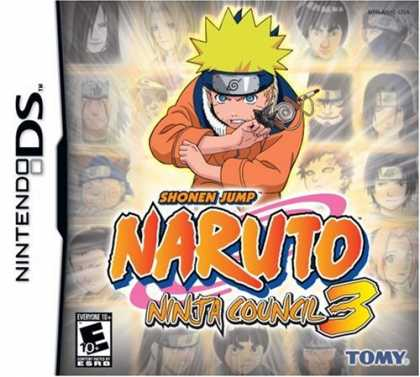 Bestselling Games (2007) - Naruto: Ninja Council 3