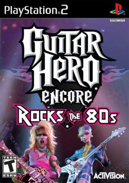 Bestselling Games (2007) - Guitar Hero Encore: Rocks the 80's