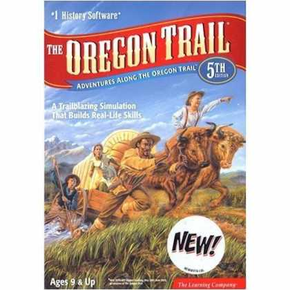 Bestselling Games (2007) - LEARNING COMPANY The Oregon Trail, 5th Edition ( Windows/Macintosh )