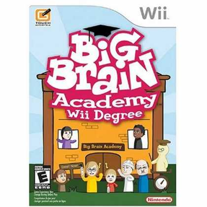 Bestselling Games (2007) - Big Brain Academy: Wii Degree