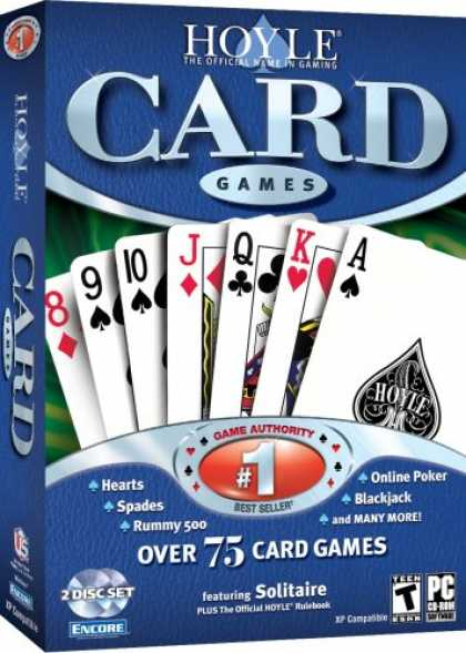 Bestselling Games (2007) - Hoyle Card Games 2007