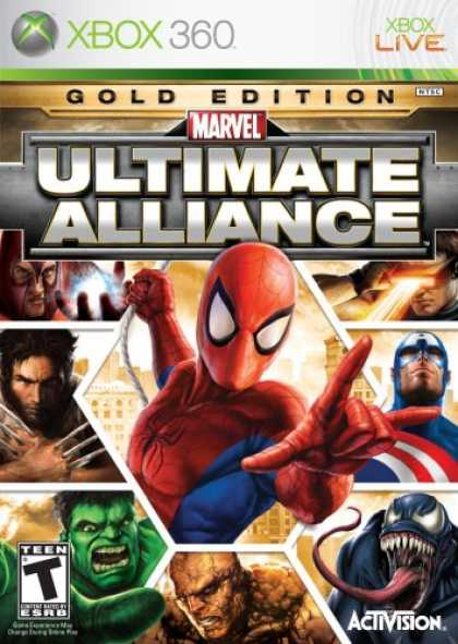 Bestselling Games (2007) - Marvel Ultimate Alliance Gold Edition