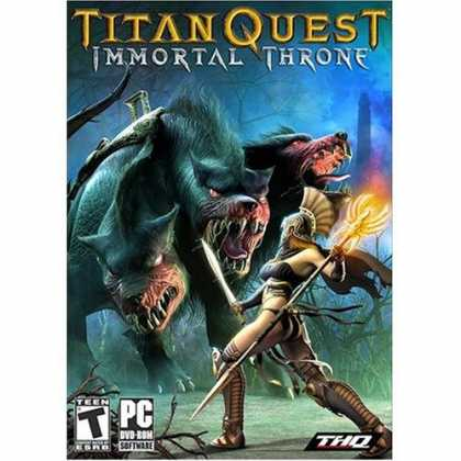 Bestselling Games (2007) - Titan Quest Immortal Throne DVD Expansion Pack